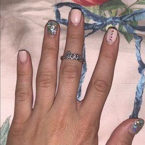 Pandora ring//size 5//love ring
